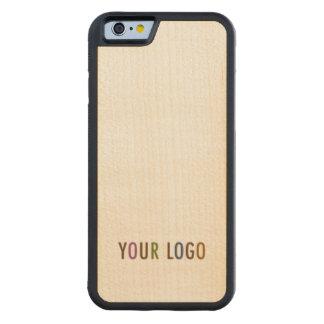 iPhone 6 6s Maple Bumper Case Custom Logo Branded