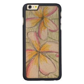 iPhone 6/6s más el caso de madera del arce delgado Funda De Arce Carved® Para iPhone 6 Plus Slim