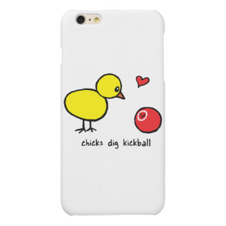 iPhone 6/6s más el caso - los polluelos cavan