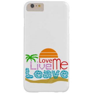 iPhone 6/6s More Box Valentine - Sea, sun, beach Barely There iPhone 6 Plus Case
