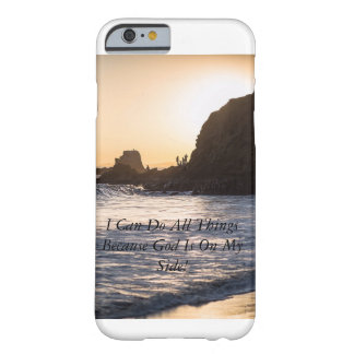 iPhone 6/6s, Ocean View I Can Do All Things Barely There iPhone 6 Case
