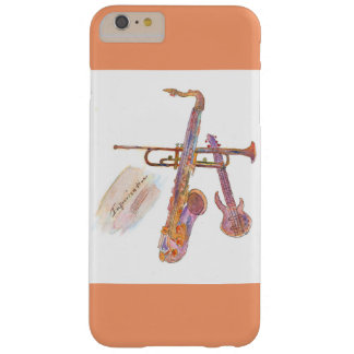 Iphone 6/6s Plus, Barely there with jazz pict Barely There iPhone 6 Plus Case