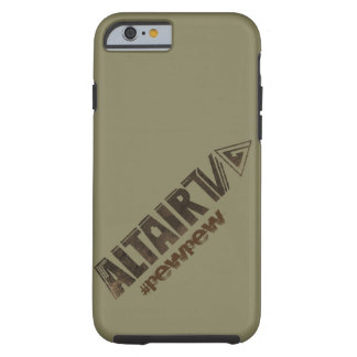 iPhone 6 6s tough case with ALTAIR TV branding