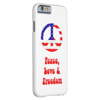 iPhone 6/6s US Flag Peace Sign Case