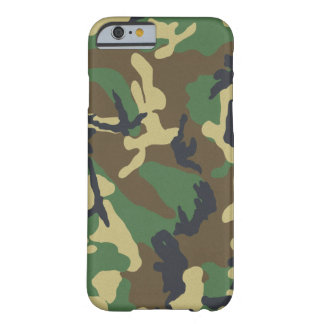 iPhone 6 apenas There™ del camuflaje Funda Para iPhone 6 Barely There