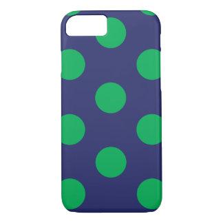 iPhone 6 azules marinos y verdes del lunar del Funda iPhone 7