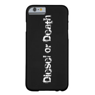 Iphone 6 Barely there case for Diesel truck fans