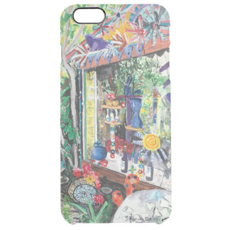 iPhone 6+ Bowling Ball House Watercolor Clear iPhone 6 Plus Case