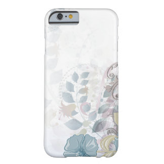 iPhone 6 case Abstract Blue Pink Watercolor Floral