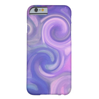 iPhone 6 case - abstract purple swirls