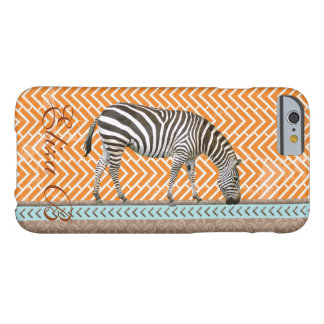 iPhone 6 Case Africa Zebra Monogram Chevrons