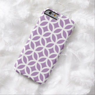 iPhone 6 Case - African Violet Geometric Pattern