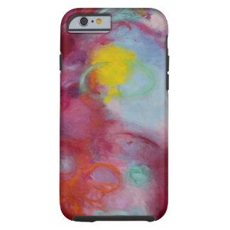 "iPhone 6 case, artwork entitled ""spin me round"" Tough iPhone 6 Case"
