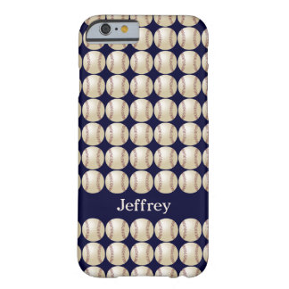 iPhone 6 Case, Baseball, Personalized Barely There iPhone 6 Case