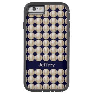 iPhone 6 Case, Baseball Tough Xtreme Personalized