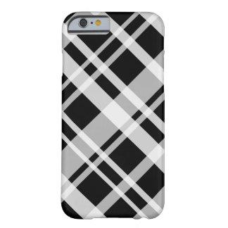 iPhone 6 case Black Plaid Case