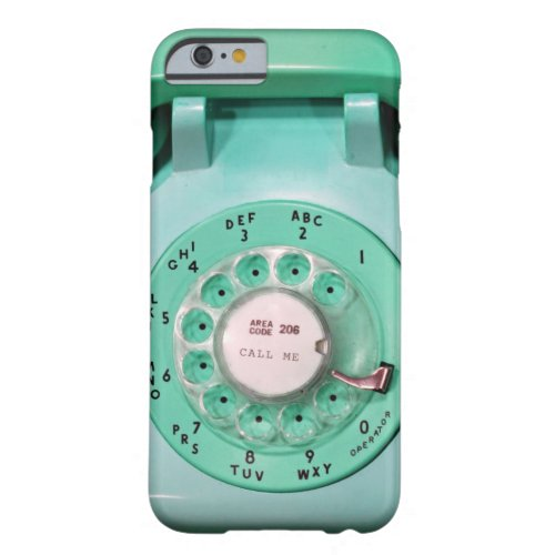 iPhone 6 case - call me rotary dial phone Phone Case