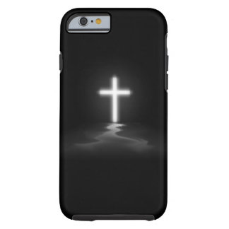 iPhone 6 case - Christian Cross in the Mist