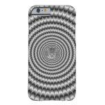 iPhone 6 Case  Circular Explosion in Silver