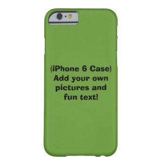 iPhone 6 Case, Create Your Own! Barely There iPhone 6 Case