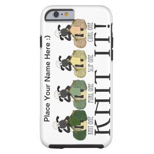 iPhone 6 case cute sheep Knit it case