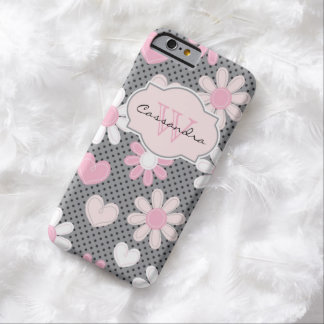 iPhone 6 Case | Daisies | Polka Dots | Hearts