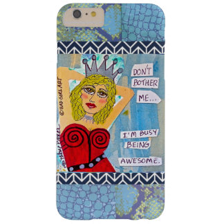IPHONE 6 CASE-DON'T MÁS ME MOLESTAN FUNDA PARA iPhone 6 PLUS BARELY THERE