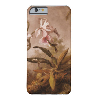 iPhone 6 case-Flowers and Hummingbirds Barely There iPhone 6 Case