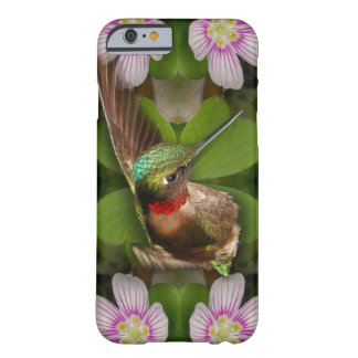 iPhone 6 case - hummingbird in bloom