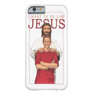 iPhone 6 Case - I Want To Be Like Jesus-Male