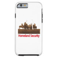 iPhone 6 case Native American Homeland Security