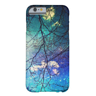 iPhone 6 case- night sky, trees, stars, magical