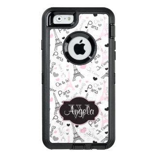 iPhone 6 Case | Paris | Eiffel Tower | Hearts