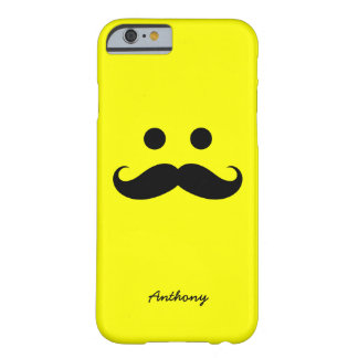 iPhone 6 case Personalized Mustache Smiley Face iPhone 6 Case