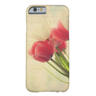 iPhone 6 case- pink and white tulips case