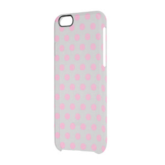 iPhone 6 Case Polkadots Uncommon Clearly™ Deflector iPhone 6 Case