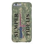 iPhone 6 case Semper Fidelis Green Camo