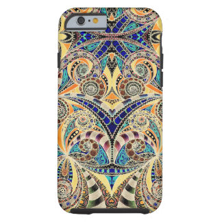 iPhone 6 case Shell Drawing Floral Zentangle
