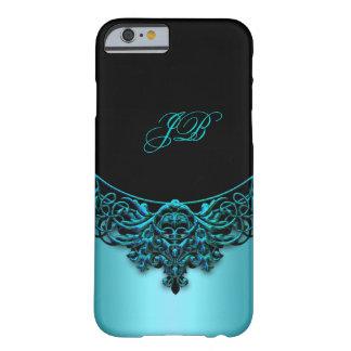iPhone 6 Case Teal Blue Black