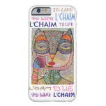 iPhone 6 case To Life L'Chaim Pink Owl Cell