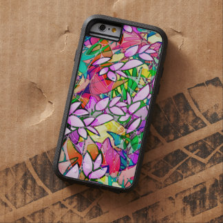 iPhone 6 Case Tough Grunge Art Floral Abstract