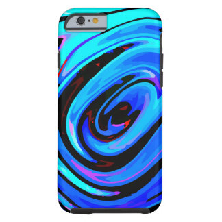 iPhone 6 Case Tough Protective Design Feeling Blue