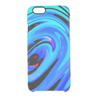 iPhone 6 Case Ultra Slim Fit Feeling Blue Design Uncommon Clearly™ Deflector iPhone 6 Case