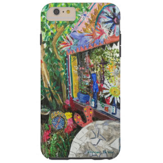 iPhone 6+ Case with Bowling Ball House Painting