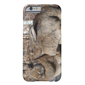 iPhone 6 case with bunnies smooching