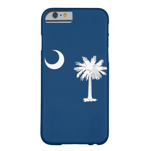 iPhone 6 case with Flag of South Carolina