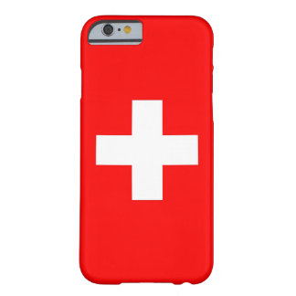 iPhone 6 case with Flag of Switzerland