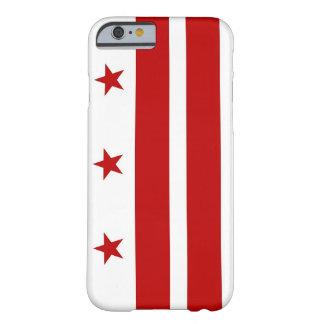 iPhone 6 case with Flag of Washington DC