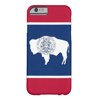 iPhone 6 case with Flag of Wyoming