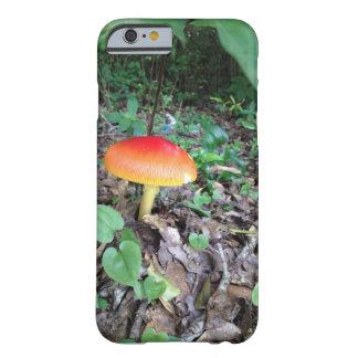 Iphone 6 case with orange mushroom